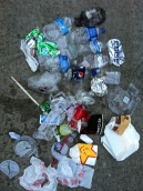 One of the banes of our existence: plastic in its many forms.